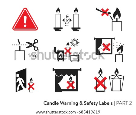 candle safety Candle safety is top priority with swan creek candle we do not use lead wicks our pure cotton wicks are designed to minimize flare ups and soot.