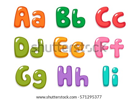 Candy Color Kid Font Part 1