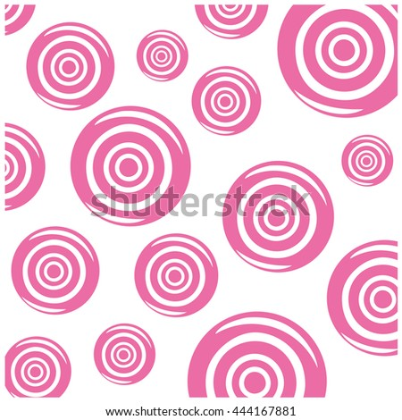 candy vector pattern - stock vector