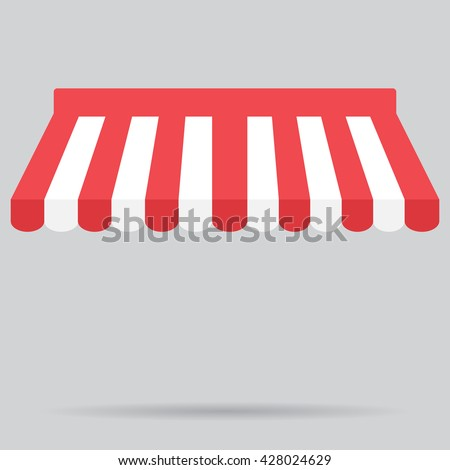 canopy awning striped store element design canopy and tent blind and store awning element - Canopy