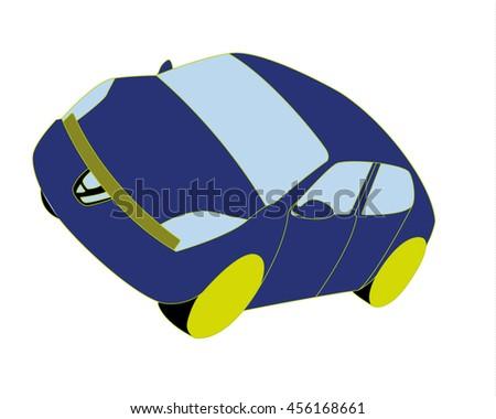 Car - stock vector
