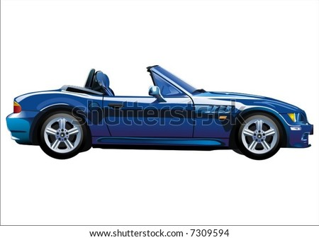 Car-1 - stock vector