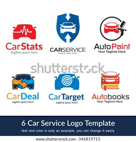 Car Business Logo Template Design Vector - stock vector