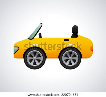 car graphic design , vector illustration
