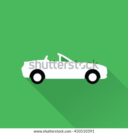 Car icon 4 in green background