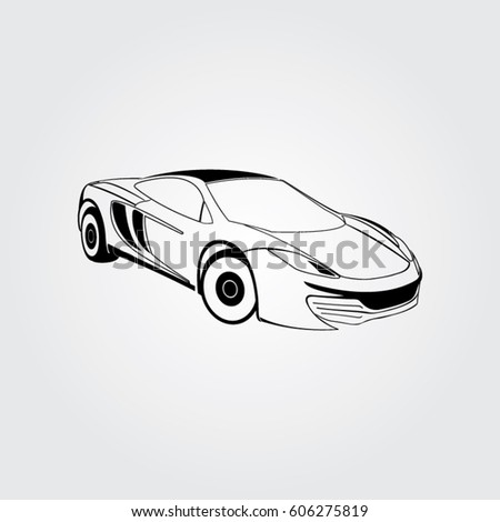 Car Icon Vector Illustration Stock Vector Shutterstock