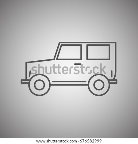 Van Outline Stock Images Royalty Free Images Vectors Shutterstock