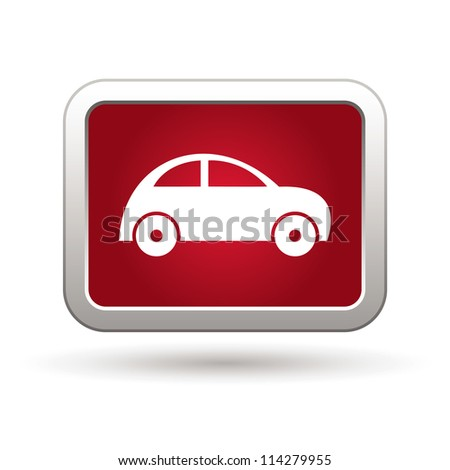 Car Icon. Vector - stock vector