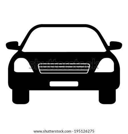 Car icon - vector illustration - stock vector
