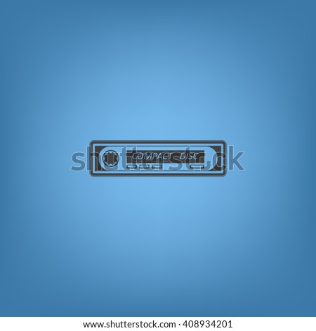 Car radio Icon JPG, Car radio Icon Graphic, Car radio Icon Picture, Car radio Icon EPS, Car radio Icon AI, Car radio Icon JPEG, Car radio Icon Art, Car radio Icon, Car radio Icon Vector - stock vector