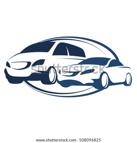 Car rental vector symbol for business