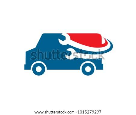 car repair logo template design vector stock vector 1015279297 rh shutterstock com