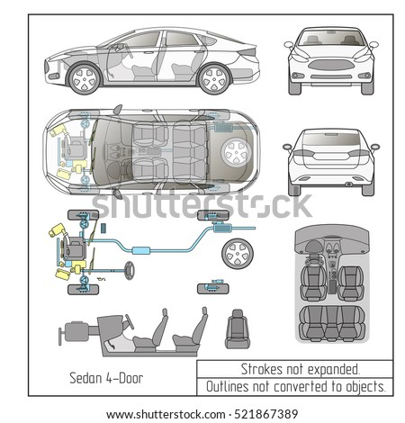 car condition form vehicle checklist auto stock vector 330198488 shutterstock. Black Bedroom Furniture Sets. Home Design Ideas