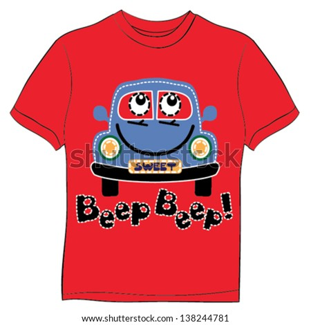 Children tshirt print stock images royalty free images for Graphic t shirts for kids