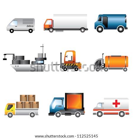 car, transportation, transport - stock vector