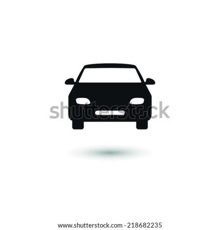 Car  - vector icon - stock vector
