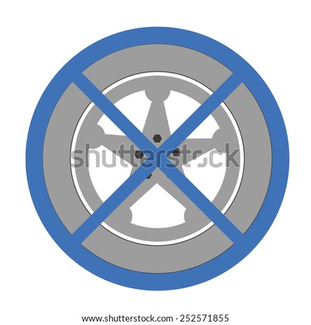 Car Wheel covers - stock vector