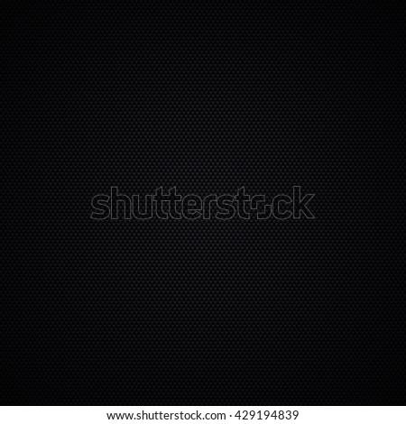 Carbon fiber background texture. Vector illustration - stock vector