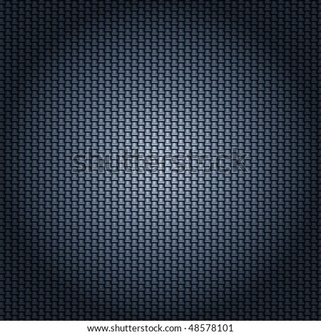 carbon fiber texture with radial lighting