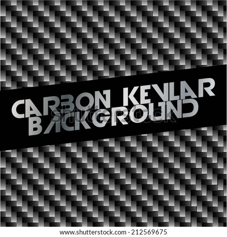 Carbon kevlar Background Texture  - stock vector