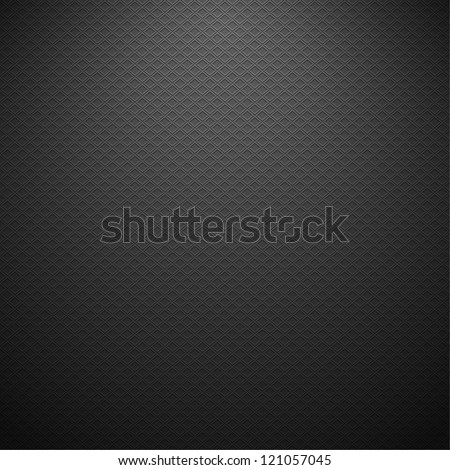 Carbon metallic texture. Vector background eps10 - stock vector
