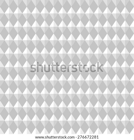 Carbon seamless pattern. Rhombic light gray convex texture. Vector  - stock vector