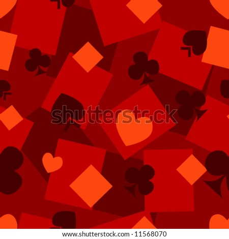 Card suits seamless abstract background