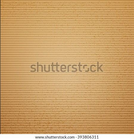 Cardboard texture vector illustration for package design. Cruft background. Old paper texture. Design paper. Cardboard box texture for retro design and package  - stock vector