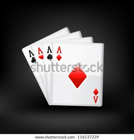 Cards. Vector
