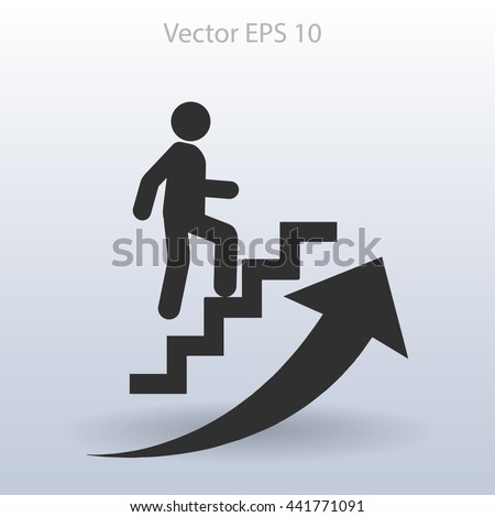 Career icon vector