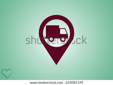 cargo insurance  guarantee of delivery - stock vector