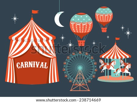 carnival vector/illustration - stock vector