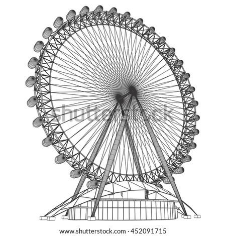 Carousel Vector 43 - stock vector