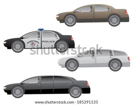 Cars set/Set of the car in vector.