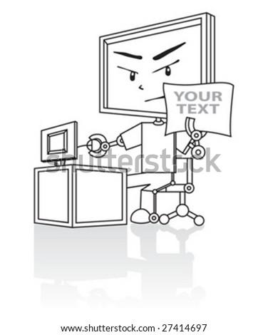 cartoon - stock vector