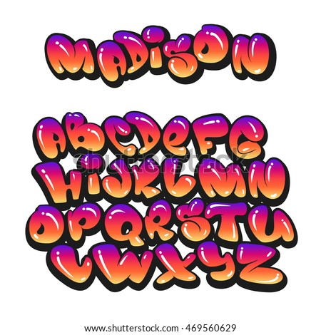 Graffiti Letters Stock Images Royalty Free Images
