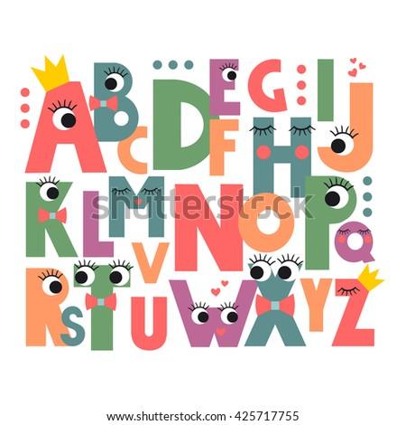 Cute Alphabet Stock Images, Royalty-Free Images & Vectors ... Cute Alphabets