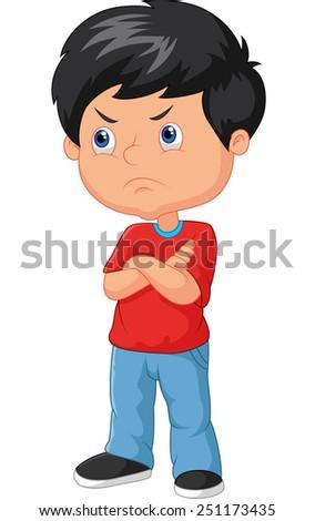 Cartoon angry boy - stock Angry Girl Cartoon Japanese