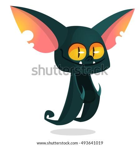 Halloween Bat Cartoon by Krisdog  GraphicRiver