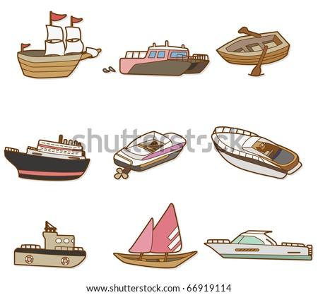 Boat Cartoon Pictures Cartoon Boat