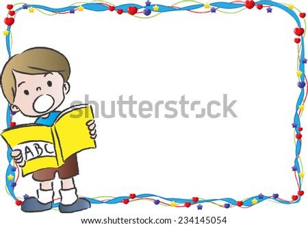 Cartoon Border Frame Vector de stock234145054: Shutterstock