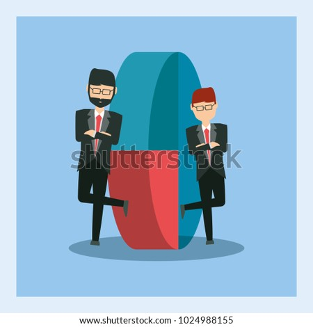 cartoon Businessman design