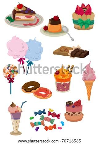 cartoon candy icon - stock vector