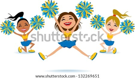 Cheerleading Pompoms Stock Images, Royalty-Free Images & Vectors ...
