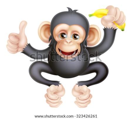 cartoon gorilla