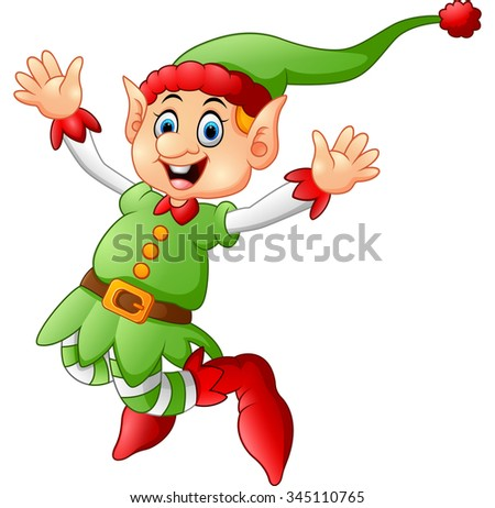Dancing Elf Stock Images Royalty Free Images Amp Vectors