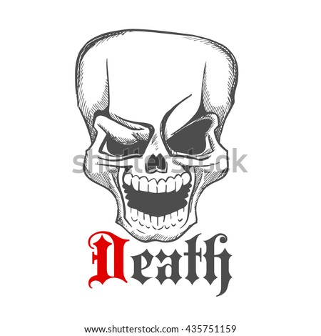 mustachioed hipster skull smoking pipe stock vector 280903631 shutterstock. Black Bedroom Furniture Sets. Home Design Ideas