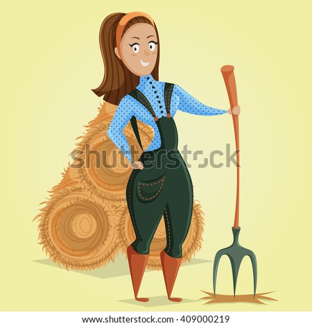 Farm Girl Stock Photos, Images, & Pictures | Shutterstock