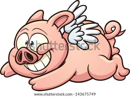 Pig cartoon royalty free stock vector art illustration male models - Stock Illustration Singer Toon Pig Stock Art Illustrations