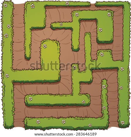 Cartoon Maze Stock Images Royalty Free Images Amp Vectors